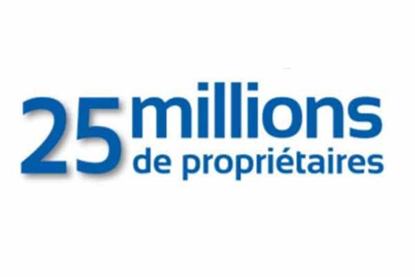 25 millions de propriétaires : Brand Short Description Type Here.